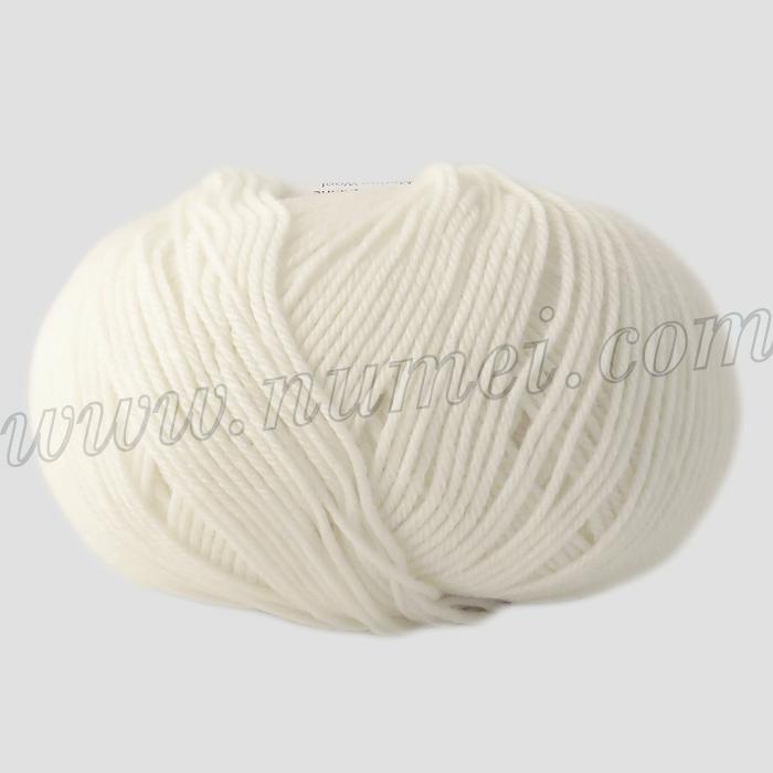 Berlini Merino Velvet Sock 1 Winter White