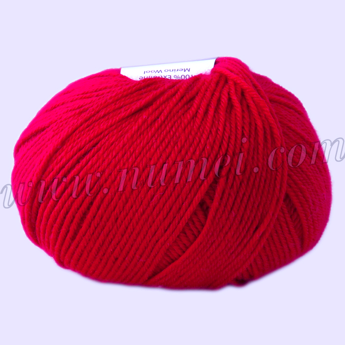 Berlini Merino Velvet Sock 118 Red