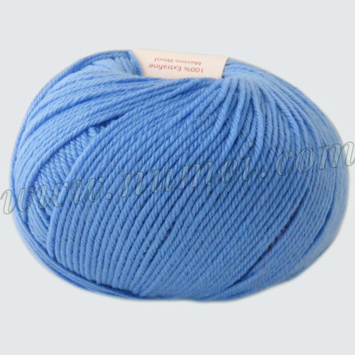 Berlini Merino Velvet Sock 164 Medium Blue