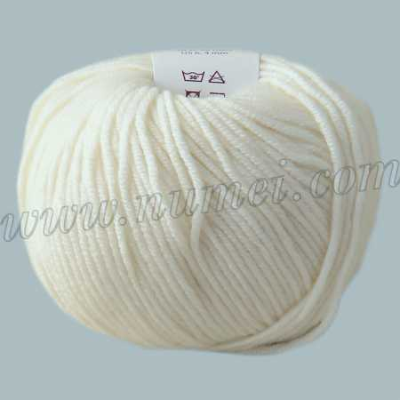Berlini Merino Velvet DK 1 Winter White - 50g Ball