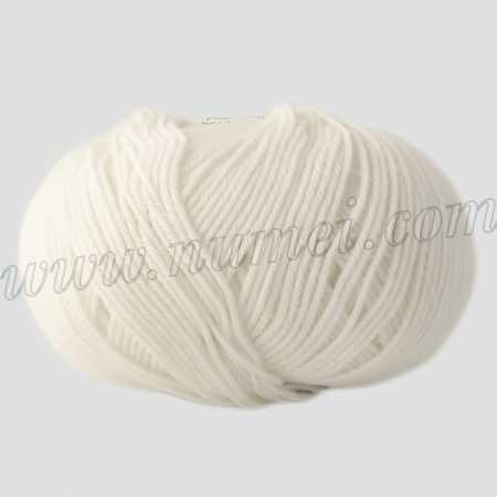 Berlini Merino Velvet Sock 1 Winter White