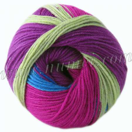 Berlini Merino Velvet Sock 111 Bouquet