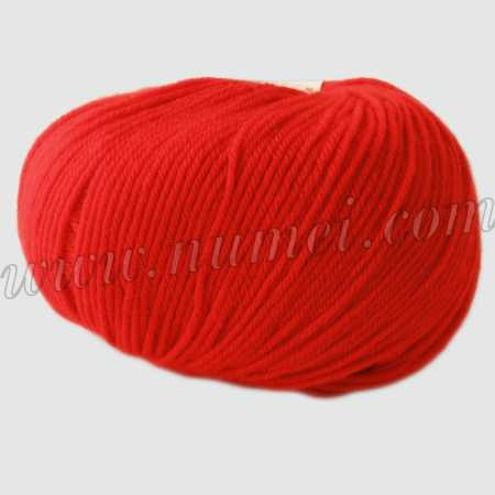 Berlini Merino Velvet Sock 117 Hot Tomato - 50g Ball