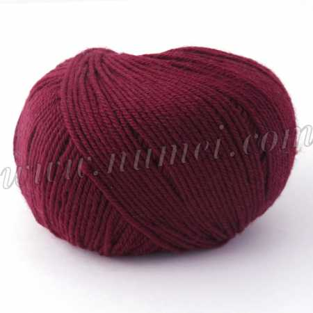 Berlini Merino Velvet Sock 16 Rumba Red - 50g Ball