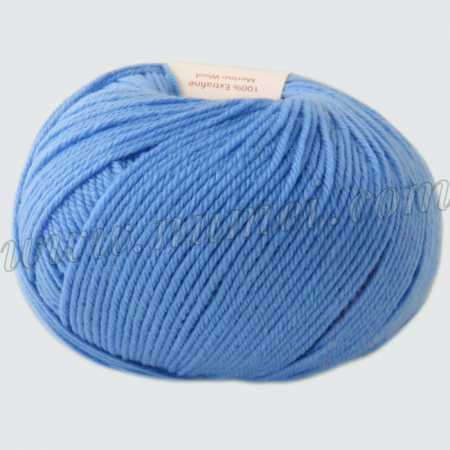 Berlini Merino Velvet Sock 164 Medium Blue