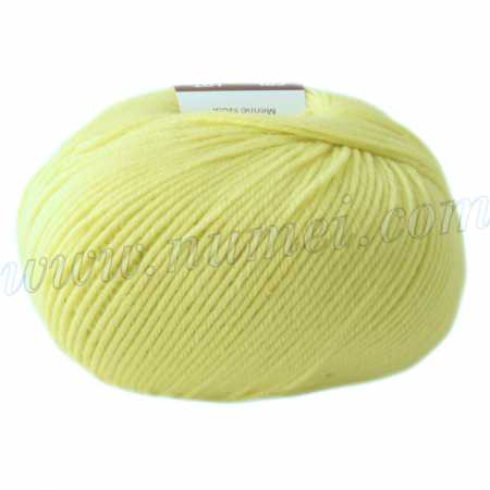 Berlini Merino Velvet Sock 21 Lemon Cream