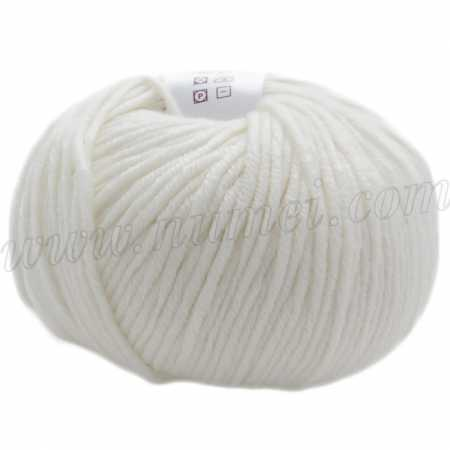 Berlini Merino Velvet Worsted 1 Winter White