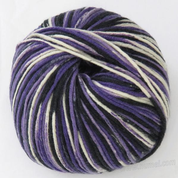Berlini Merino Velvet Worsted 1108 Purple Camouflage