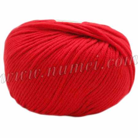 Berlini Merino Velvet Worsted 117 Hot Tomato