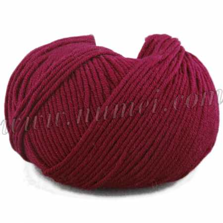 Berlini Merino Velvet Worsted 16 Rumba Red - 100g Ball