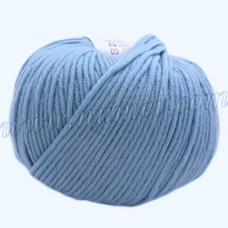 Berlini Merino Velvet Worsted 163 Sky Blue