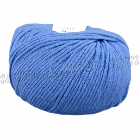 Berlini Merino Velvet Worsted 164 Medium Blue - 100g Ball
