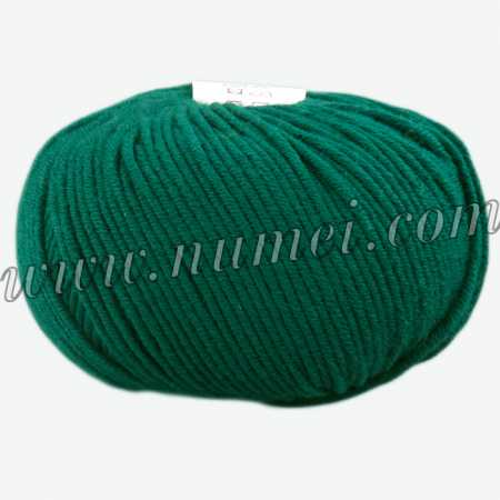 Berlini Merino Velvet Worsted 165 Hunter Green - 100g Ball