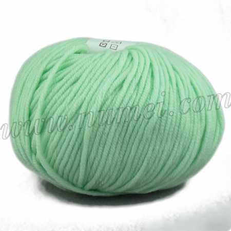 Berlini Merino Velvet Worsted 18 Mint - 100g Ball
