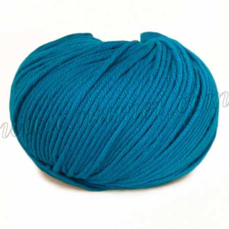 Berlini Merino Velvet Worsted 19 Turquoise - 100g Ball