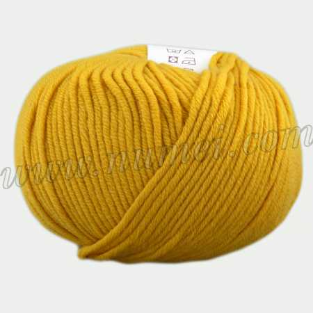 Berlini Merino Velvet Worsted 241 Mustard - 100g Ball