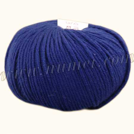 Berlini Merino Velvet Worsted 470 Navy - 100g Ball
