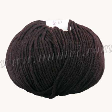 Berlini Merino Velvet Worsted 530 Roast Coffee - 100g Ball