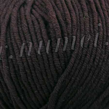 Berlini Merino Velvet Worsted 530 Roast Coffee