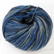 Berlini Merino Velvet Worsted 1107 Navy Blue Camouflage