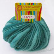 Adrianwool Cocco 134 Pacific Teal - 50g Ball
