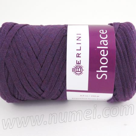 Berlini Shoelace 17 Eggplant - 8.8 oz (250g) Ball