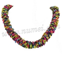 Ladder Ribbon Lei Necklace and Choker
