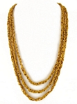 Bejewel necklace, color: Gold Nugget
