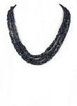Bejewel Necklace, color: Lapis