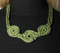 Olive Medallion Necklace