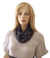 Free Crochet Pattern - Ladder Ribbon Necklace