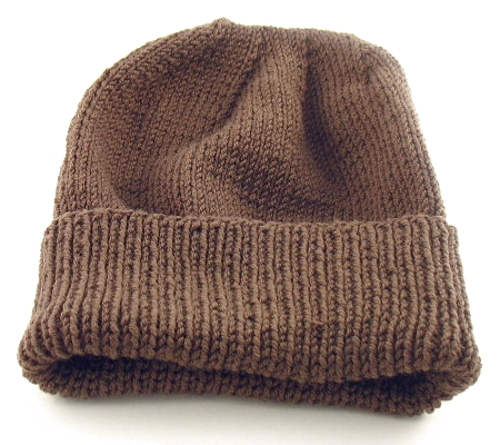 Free Knitting Pattern: Easy-to-Knit Hat (Suitable For Soldiers/Troops