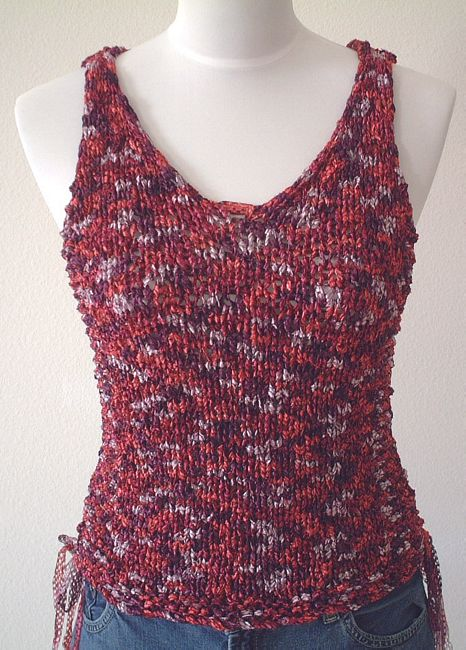 Tank Top Knitting Pattern Free : KNITTING PATTERNS TANK TOP FREE PATTERNS
