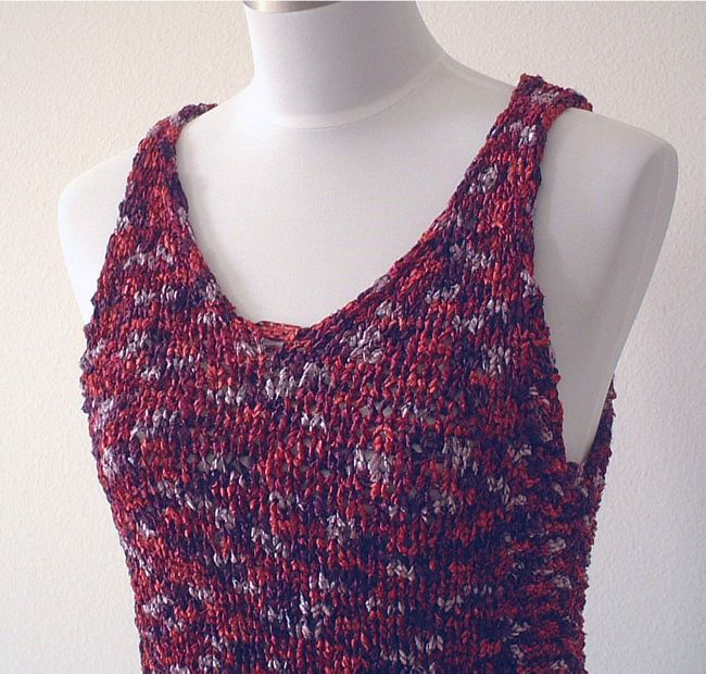 Free Knitting Pattern For Toddlers Tank Top : FREE CROCHET TANK TOP PATTERN Crochet Tutorials