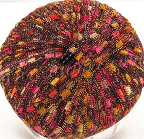 Knitting Patterns For Ribbon Yarn : Ladder Ribbon Yarn Knitting Patterns